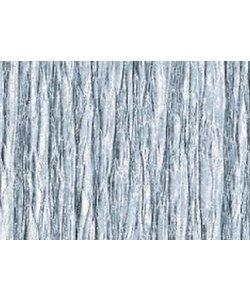 Folia Crepe Papier Zilver 50x250cm