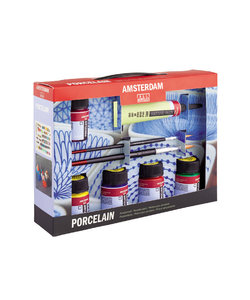 Amsterdam Porcelaine Porseleinverf Starter Set 5x16ml