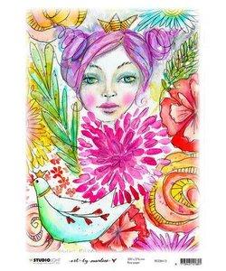 Studio Light Art By Marlene Rice Paper 20x27,6cm  Marlene's World nr. 13