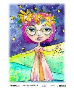 Studio Light Art By Marlene Rice Paper 20x27,6cm  Marlene's World nr. 15