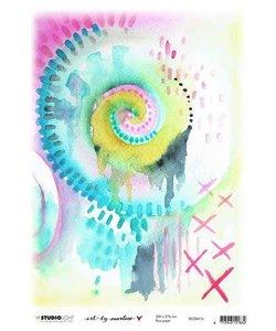 Studio Light Art By Marlene Rice Paper 20x27,6cm  Marlene's World nr. 16