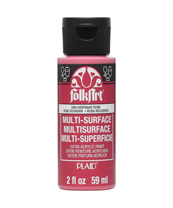 FolkArt Multi-Surface 59ml Keepsake Rose