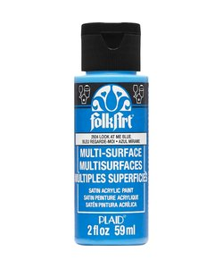 FolkArt Multi-Surface look at me blue 59ml.