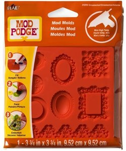 Mod Podge Mold Ornaments
