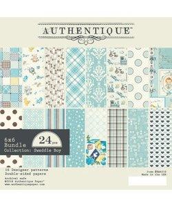 Authentique Paper Pad Swaddle Boy 6x6'' 24st