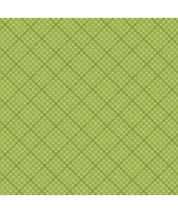 """Core' dinations patterned 12x12"""" l.green plaid"""