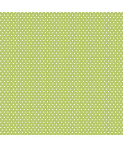 """Core' dinations patterned 12x12"""" l.green small dot"""
