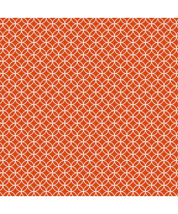 """Core' dinations patterned 12x12"""" orange graphic"""