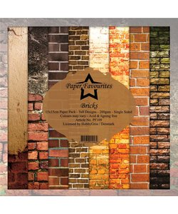 Dixi Craft paper pack 6x6 Bricks