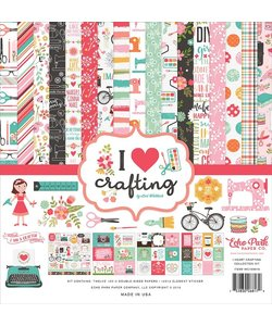 Echo Park Paper Collection Kit 12x12'' I Heart Crafting