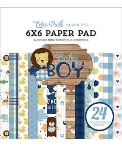 Echo Park Paper Pad 6x6'' Baby Boy