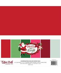 Echo Park Solids kit Merry & Bright