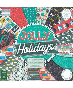 First Edition Paper Block Jolly Holidays 12x12