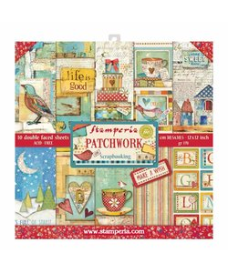 Stamperia Paper Pack 12x12' Patchwork
