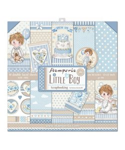 Stamperia Paper Pack 12x12'' Little Boy