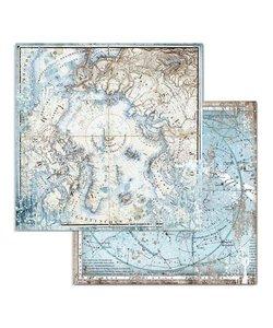 Stamperia Paper 12x12'' Arctic Antarctic Arctic