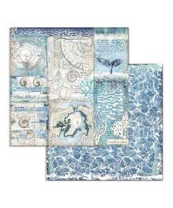 Stamperia Paper 12x12'' Arctic Antarctic Shells
