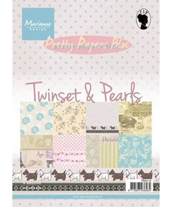 Marianne D. pretty papers Twinset & pearls