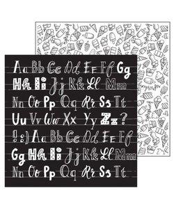 Paperfuel Papier 30,5x30,5cm 200gr ABC
