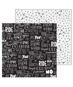Paperfuel Papier 30,5x30,5cm 200gr Bike