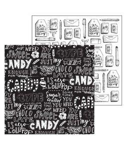 Paperfuel Papier 30,5x30,5cm 200gr Candy