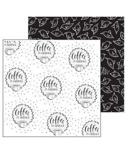 Paperfuel Papier 30,5x30,5cm 200gr Coffee