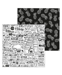 Paperfuel Papier 30,5x30,5cm 200gr Holiday