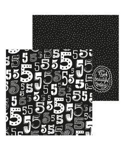 Paperfuel Papier 30,5x30,5cm 200gr Numbers