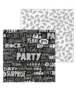 Paperfuel Papier 30,5x30,5cm 200gr Party