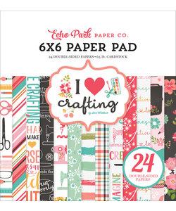 Echo Park Paper Pad 6x6'' I Heart Crafting