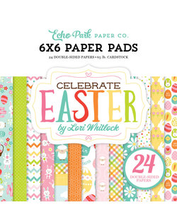 Echo Park Paper Pad 6x6'' Celebrate Easter