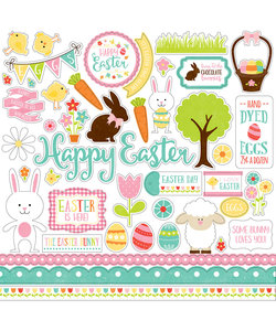 Echo Park Easter Stickers Celebrate Easter
