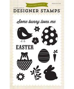 Echo Park Designer Stamps Easter Some Bunny Loves Me