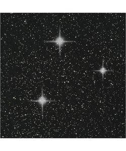Hobbyvilt A4 dikte 1mm zwart glitter