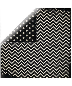 BoBunny Chevron Dots Zigzag zwart