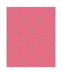 Vel Decopatch papier Patroon rood/roze