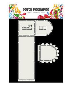 DDBD Stencil Dutch Card Art Mailbox A4