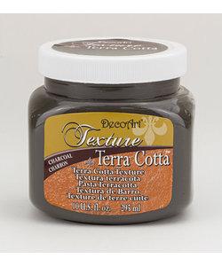 Deco Art Texture Terra Cotta  Charcoal 295ml