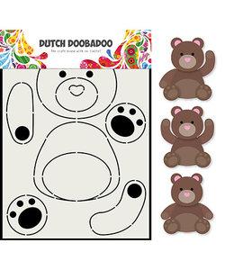 Dutch Doobadoo Card Art A5 Berenjacht