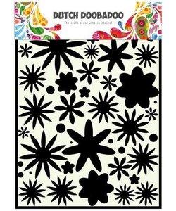 Dutch Doobadoo Mask Stencil Flower Power