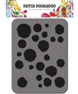 DDBD Foam Stamp Dots stippen cirkel