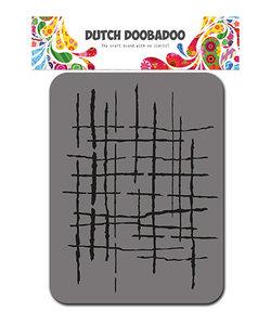 DDBD Foam Stamp Fabric stof stripes