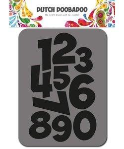 DDBD Foam Stamp Nummers / Numbers
