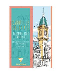Clairefontaine Kleurboek volwassenen stad