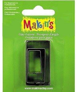 Makin's Clay Uitsteekvorm Set Rechthoek 3st