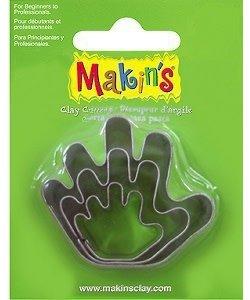 Makin's Clay Uitsteekvorm Set Hand 3st