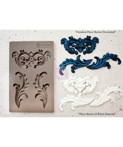 Prima Marketing mould 5x8 inch. Everleigh Flourish