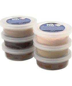 Silk Clay Set Huidskleuren