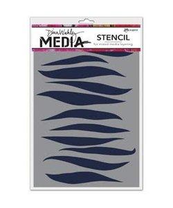 Ranger Dina Wakley Media Stencil Gusts