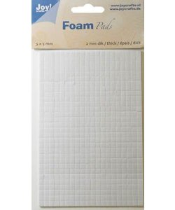 Joy Crafts Foam Pads 2x5x5mm
